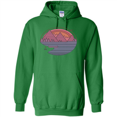 The Mountains Are Calling I Must Go T-shirt Pullover Hoodie 8 oz - WackyTee