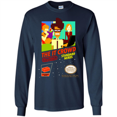 TV Series T-shirt The It Crowd Standard Nerds LS Ultra Cotton Tshirt - WackyTee