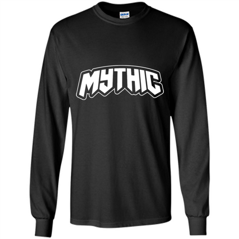 Allegorically Simple T-shirt Mythic Black / S LS Ultra Cotton Tshirt - WackyTee