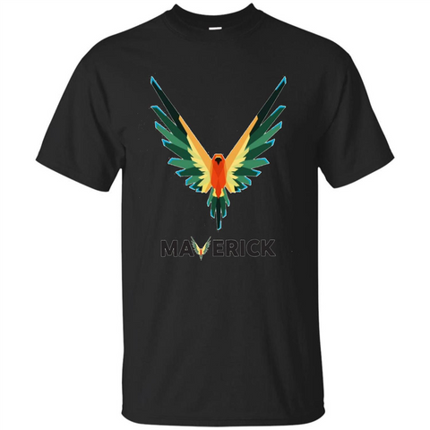 Be A Maverick T-shirt Color T-shirt Black / S Custom Ultra Tshirt - WackyTee
