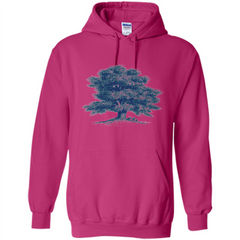 Maple Tree T-Shirt. Tree Natural Maple Tree T-shirt Pullover Hoodie 8 oz - WackyTee