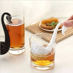 Swan Spoon Tea Strainer
