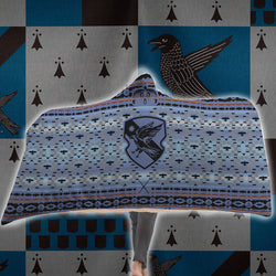 The Wise Ravenclaw Harry Potter 3D Hooded Blanket