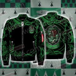 Cunning Like A Slytherin Harry Potter Bomber Jacket