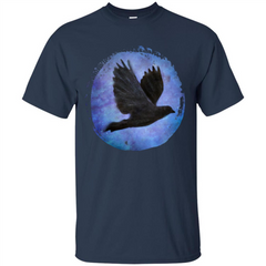 Raven In Flight T-shirt Custom Ultra Tshirt - WackyTee