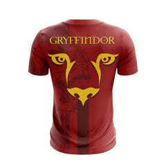 Football Gryffindor Harry Potter Unisex 3D T-shirt Fullprinted Unisex 3D T-shirt - WackyTee