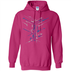 Digital Move T-shirt Pullover Hoodie 8 oz - WackyTee