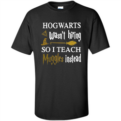 I Teach Muggles Instead T-shirt