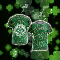 Irish Saint Patricks Day Unisex 3D T-shirt