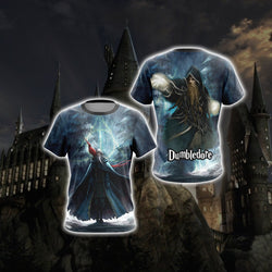 Dumbledore Harry Potter Unisex 3D T-shirt