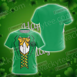 Leprechaun Costumes Saint Patricks Day Unisex 3D T-shirt