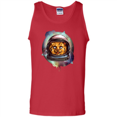 Space Kitty T-shirt Tank Top - WackyTee