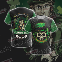 Everyone's Irish Saint Patricks Day Unisex 3D T-shirt