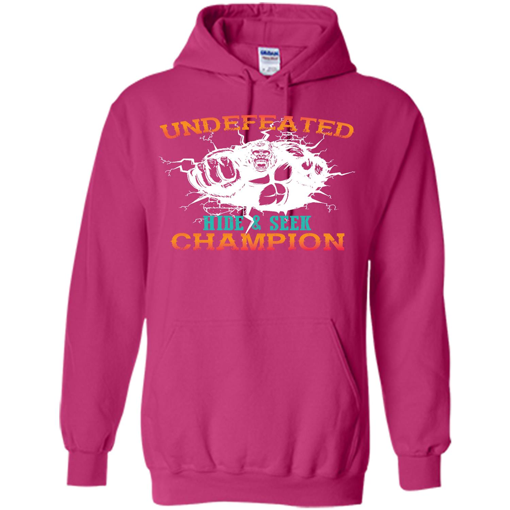 b79ab206 Undefeated Hide and Seek Champion T-shirt Pullover Hoodie 8 oz - WackyTee