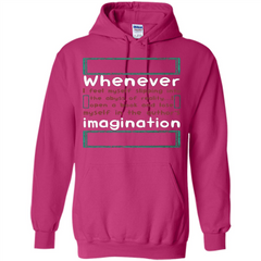 Whenever I Feel Myself Slipping In To The Abyss T-shirt Pullover Hoodie 8 oz - WackyTee