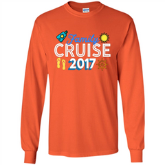 Family T-shirt Family Cruise 2017 LS Ultra Cotton Tshirt - WackyTee
