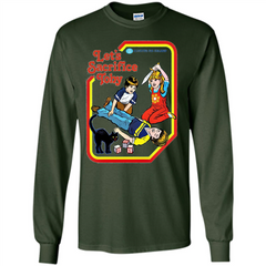Let's Sacrifice Toby Shirt LS Ultra Cotton Tshirt - WackyTee