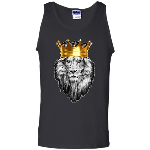 King Lion Awesome Super T-shirt Black / S Tank Top - WackyTee