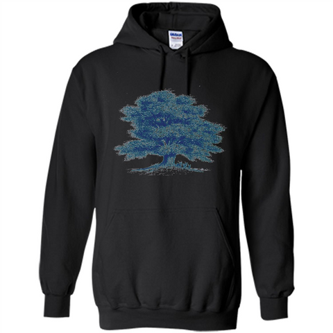 Maple Tree T-Shirt. Tree Natural Maple Tree T-shirt Black / S Pullover Hoodie 8 oz - WackyTee