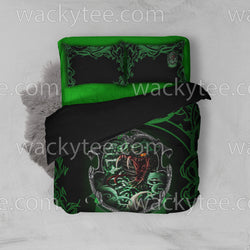 Cunning Like A Slytherin Harry Potter New Look Bed Set