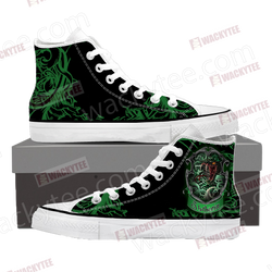 Cunning Like A Slytherin Harry Potter High Top Shoes