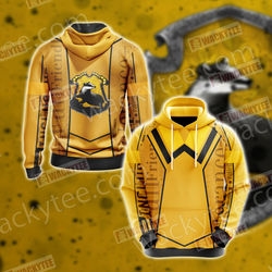 Harry Potter - Hufflepuff House New Lifestyle Unisex 3D Hoodie