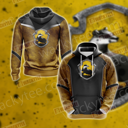 Harry Potter - Hufflepuff Edition New Style Unisex 3D Hoodie