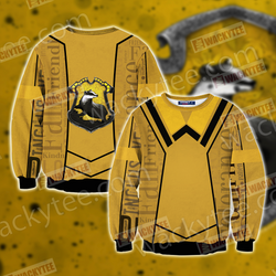 Harry Potter - Hufflepuff House New Lifestyle Unisex 3D Sweater