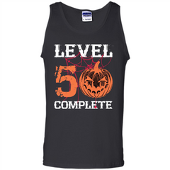 Halloween T-shirt Level 50 Complete Tank Top - WackyTee