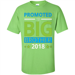 Brothers T-shirt Promoted to Big Brother 2018 T-shirt Custom Ultra Cotton - WackyTee