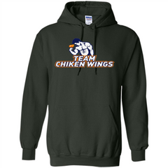 Team Chicken Wings T-shirt Funny Workout T-Shirt Pullover Hoodie 8 oz - WackyTee