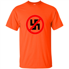 Anti-Nazi Shirt Support Equal Rights T-shirt Custom Ultra Tshirt - WackyTee