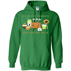 Halloween T-shirt It's The most Wonderful Time Of The Year Pullover Hoodie 8 oz - WackyTee