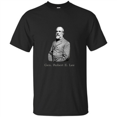 Military T-shirt General Robert E. Lee T-Shirt Custom Ultra Tshirt - WackyTee