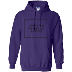 Yung Lean Unknown Death 2002 Tshirt Pullover Hoodie 8 oz - WackyTee