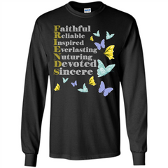 Friend T-shirt Faithful Reliable Inspired Everlasting LS Ultra Cotton Tshirt - WackyTee
