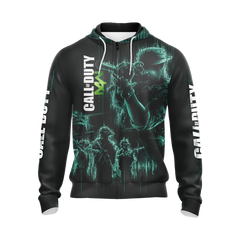 Call Of Duty New Unisex 3D Zip Up Hoodie Fullprinted Zip Up Hoodie - WackyTee