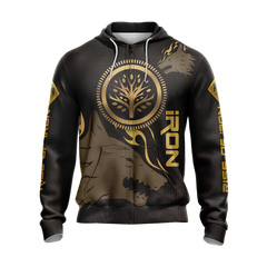 Destiny: Rise of Iron Unisex Zip Up Hoodie Fullprinted Zip Up Hoodie - WackyTee