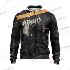 Gangland (TV series) Unisex Zip Up Hoodie Jacket Fullprinted Zip Up Hoodie - WackyTee