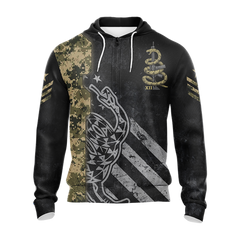 Molon Labe Come And Take Them Unisex 3D Zip Up Hoodie Fullprinted Zip Up Hoodie - WackyTee