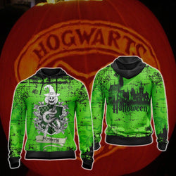 Cunning Like A Slytherin Harry Potter - Halloween Unisex Zip Up Hoodie