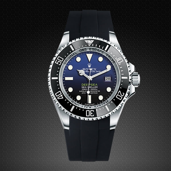 Strap for Rolex Deepsea 116660 - Glidelock Edition