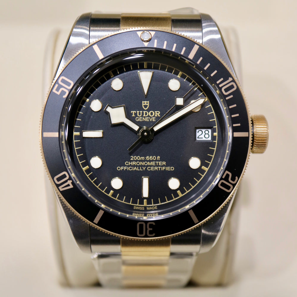Tudor Black Bay S&G - Swiss Emporium Melbourne