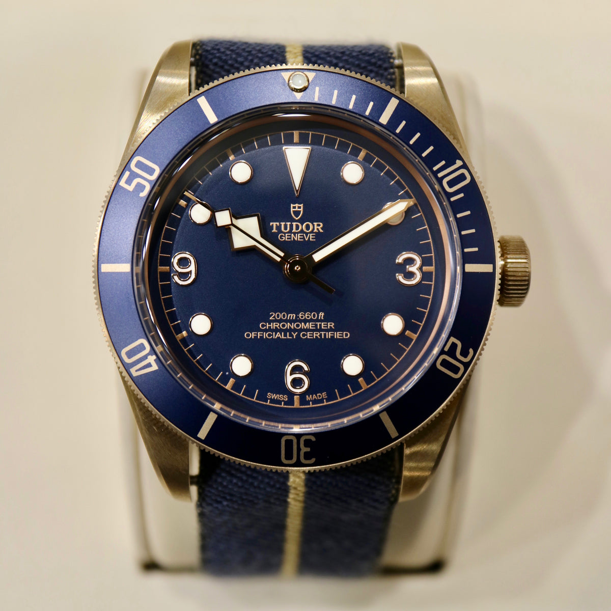 "Tudor Heritage Black Bay Bronze ""Bucherer Edition"" - Swiss Emporium Melbourne"