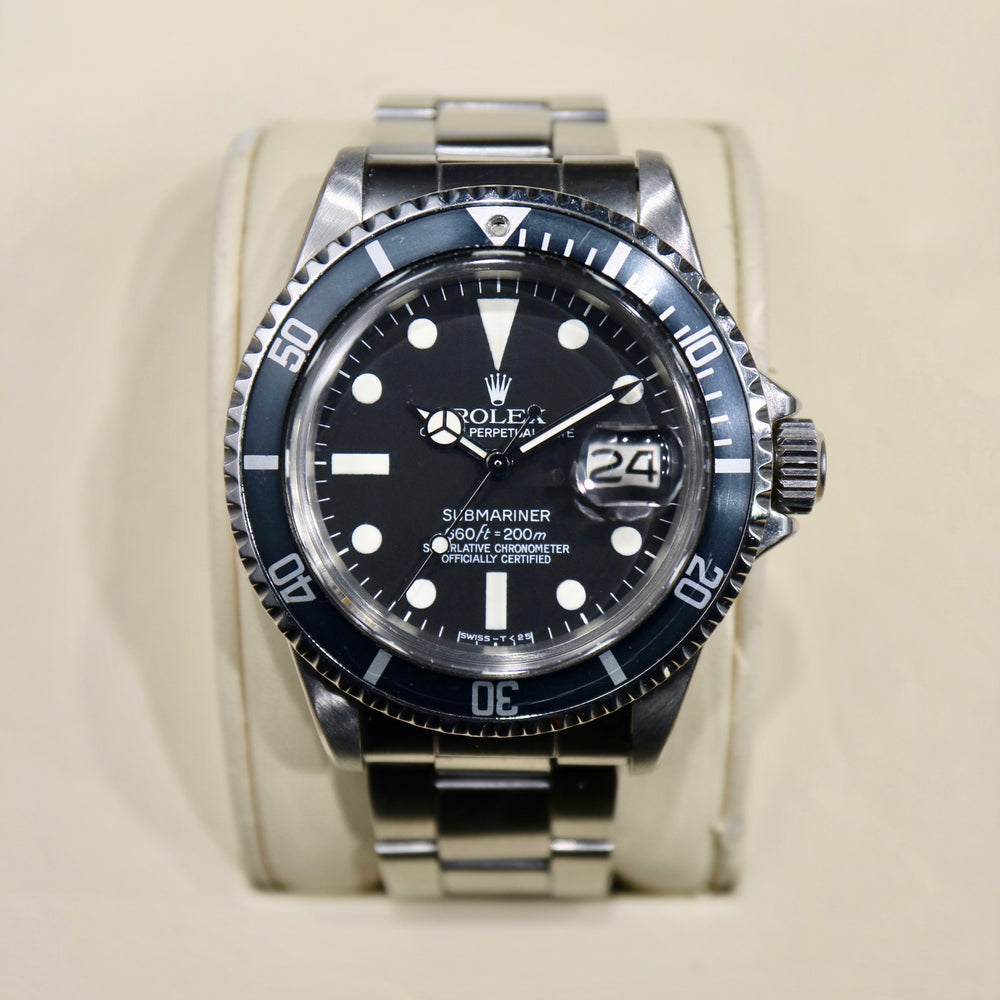 1972 Rolex Submariner Reference 1680 - Swiss Emporium Melbourne