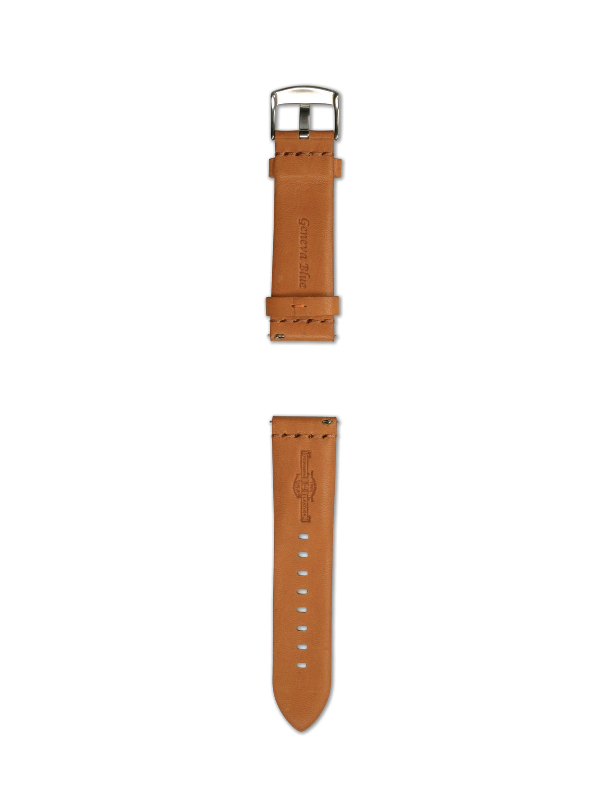 24MM SUPPLE TAN STRAP
