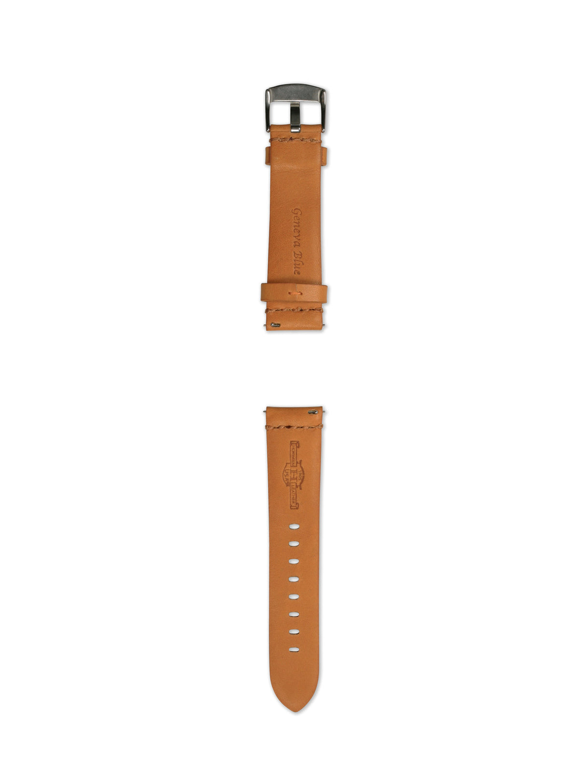 22MM SUPPLE TAN STRAP