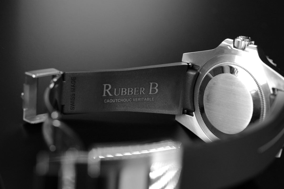 RubberB Strap for Rolex Submariner Ceramic - Glidelock Edition