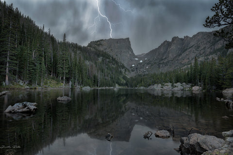 Lightning on Hallett Peak