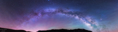 The Different Airglow in the Milky Way